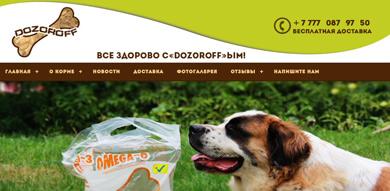 Сайт dozoroff.kz