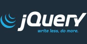 Логотип jQuery с его слоганом