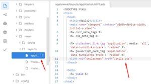Layouts в Ruby on Rails