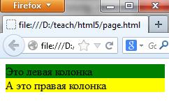 Отмена обтекания на адаптивном сайте